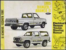free car manuals to download 1985 ford ranger spare parts catalogs 1985 ford ranger and bronco ii electrical troubleshooting manual