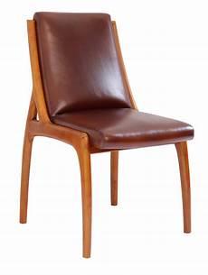 vintage stuhl franz 246 sischer klassischer retro vintage stuhl lederstuhl