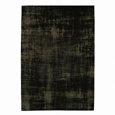 tapis vert foncé tapis en coton vert fonc 233 140 x 200 cm feel maisons du monde