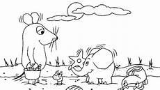 Ausmalbilder Hase Und Elefant Maus Und Elefant Am Strand Die Sendung Mit Der Maus Wdr