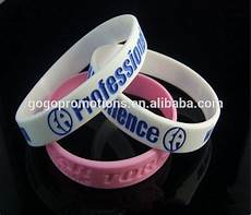 Color Band Silicone by Debossed Fill Ink Color Silicone Band With Images