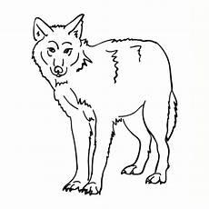 ausmalbilder zum drucken malvorlage wolf kostenlos 5