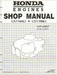 small engine service manuals 1995 honda accord engine control honda gxv390 engine shop manual