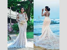 South African Plus Size Beach Wedding Dresses 2020 Lace