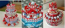 torte aus kinderriegeln kinderriegel torte s 252 223 e 220 berraschung nicht nur f 252 r eure