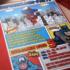 Superhelden Beartblog Kindergeburtstag