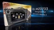 manual repair autos 2012 mazda mazda5 navigation system koolerbuy com koolertron 2010 2011 2012 2013 mazda 3 radio dvd gps navigation system youtube