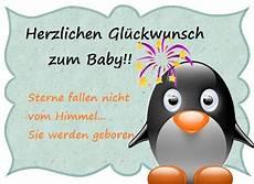 gl 252 ckwunsch zum baby bild mit babypinguin celebration