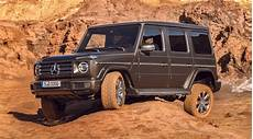 2019 mercedes g class unveiled in its entirety