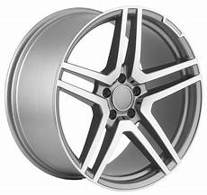 20 Inch Mercedes Amg Gunmetal Wheels Rims Ebay