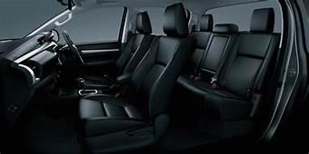 2016 Toyota Hilux Interior Crew  The Fast Lane Truck