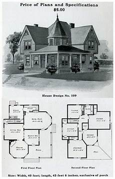 folk victorian house plans 1903 free classic queen anne william radford in 2020