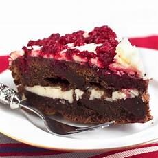 Schoko Himbeer Kuchen - kuchen mit himbeeren und schokolade