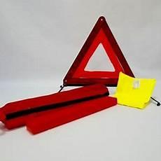 triangle pour voiture kit triangle de signalisation gilet de s 233 curit 233 pour voiture fourgon auto ebay