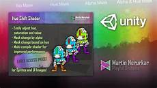 unity apply shader to sprite unity 3d color shift shader sprite and ui hsv shift youtube