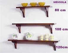 mensole in legno arte povera w 1230 mensole con supporti legno