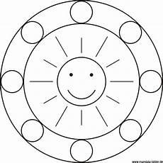 mandala sonne meditation mandalas kinder ausmalbilder