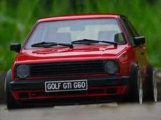 1 18 Tuning Vw Golf 2 G60 Rot Mit Bbs Echtalu Felgen