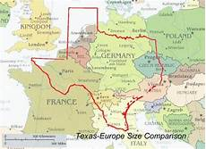 area top europe just how big is the united states