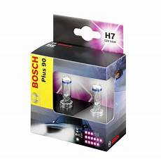 Pack 2 Oules H7 Bosch 90 Plus 55w 12v Yakaequiper
