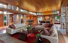 Warm Contemporary warm modern home charles r stinson architecture