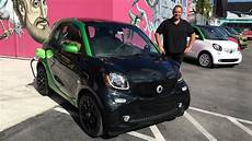 Smart Elektro 2017 - smart for two electric drive test fahrbericht review