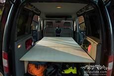 Vw Caddy Bett Ausbau Bauanleitung F 252 Rs Selber Bauen