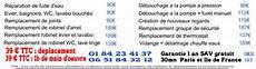 prix intervention plombier les tarifs de d 233 pannage en plomberie sur et l 206 le de