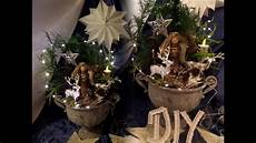 diy schnelle winter weihnachts deko selber machen