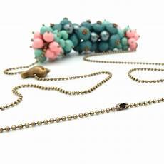 Fabriquer Un Collier De Perles Pour La F 234 Te Des M 232 Res