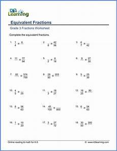 worksheets on fraction grade 7 4063 grade 3 fractions and decimals worksheets free printable k5 learning
