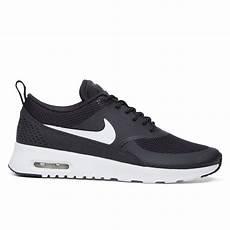 s air max thea black sneaker burgundy