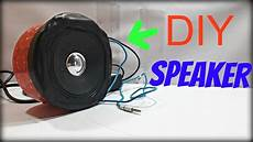 how to make a simple diy subwoofer lifier at home youtube
