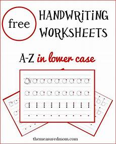 homeschool handwriting worksheets 21410 free lowercase handwriting worksheets free homeschool deals