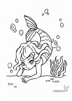 Malvorlagen Urlaub Strand Schule Kleine Meerjungfrau Als Ausmalbild F 252 R Kleine Ostsee Fans