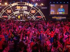 showmanship and conflict as darts goes from smoky pubs
