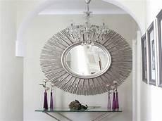 spiegel deko wand dekoration mit silberem spiegel freshouse