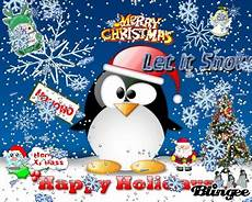 merry christmas penguin picture 78098921 blingee com