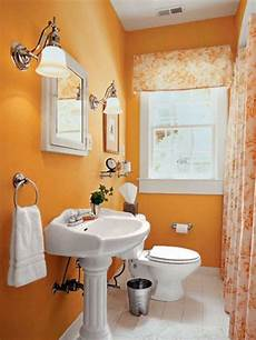 Bathroom Ideas Orange by Orange Bathroom Paint Ideas With Creative Paint Colors For