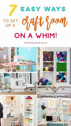 setting up a craft room in 7 unbelievably easy steps