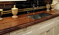 Kitchen Counter With Sink by Walnut Wood Kitchen Countertop With Sink By Grothouse