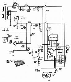 sony playstation schematic