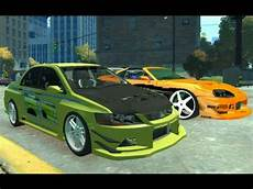 Fast And Furious 1 2 Tokyo Drift Cars Gta4
