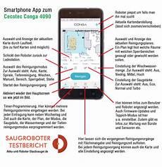 conga 4090 testbericht app tutorial akku und roboter