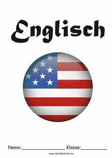 Malvorlagen Vorschule Usa Deckblatt Englisch Unterricht Deckblatt Schule