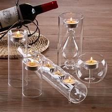 bicchieri di design aliexpress buy stunning set 5 glass candle holders