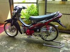 Modifikasi Motor Shogun 110 Kebo by Modifikasi Motor Suzuki Shogun 110 Keren Terbaru Otomotiva