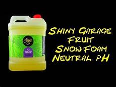 shiny garage fruit snow foam neutral ph on foam sprayer