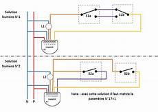 interrupteur va et vient avec variateur domogy la domotique expliqu 233 e simplement 2 solutions