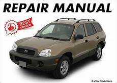 car maintenance manuals 2007 hyundai santa fe auto manual hyundai santa fe repair manual ebay